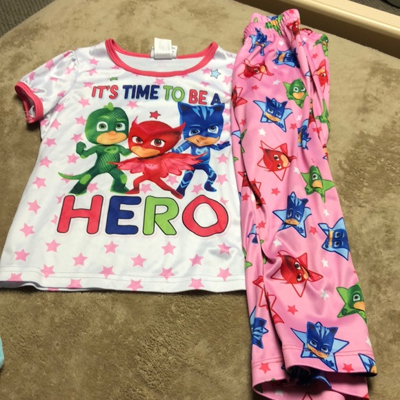 Size 6 PJ Masks Pajama Set